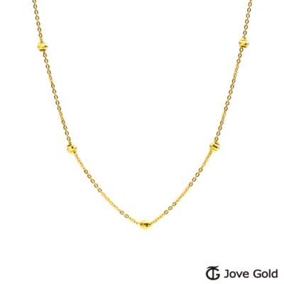 Jove Gold 漾金飾 美麗日記黃金項鍊