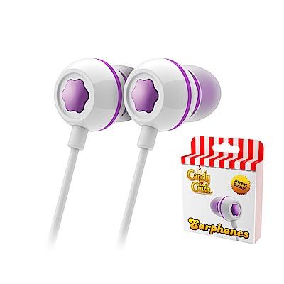 Candy Crush 糖果美眉入耳式音樂耳機麥克風