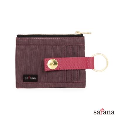 satana - Soldier 繽紛卡片夾/零錢包 - 小豆色