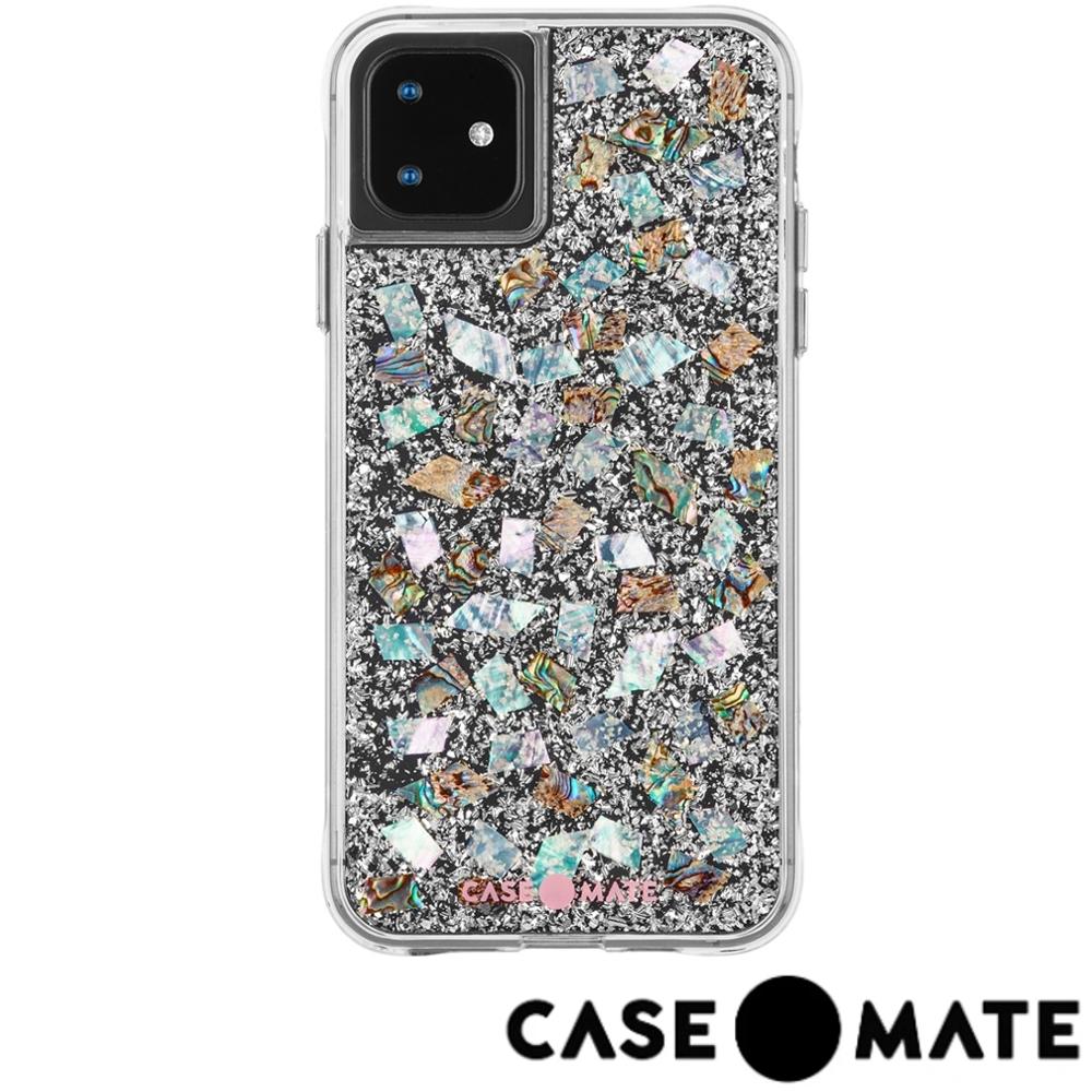 美國 Case-Mate iPhone 11 Karat 防摔手機保護殼 - 貝殼銀箔