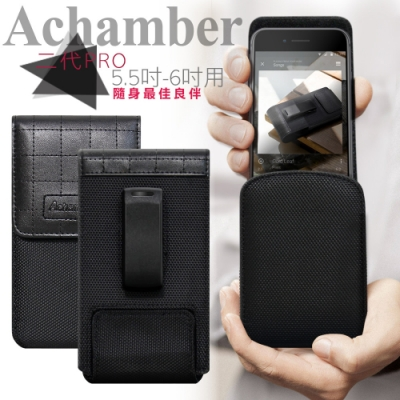 Achamber for iPhone11/Pro/11 Pro Max 直立旋轉腰夾皮套