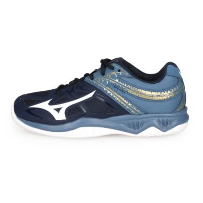 MIZUNO THUNDER BLADE 2男排球鞋- 丈青藍白