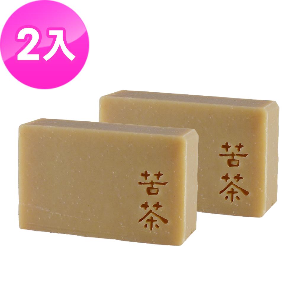 文山手作皂-苦茶洗頭皂_洗髮皂2入特惠組