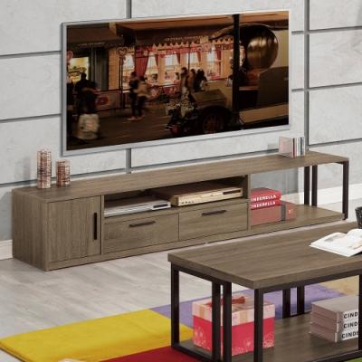 H&D 科比方框6.5尺電視櫃