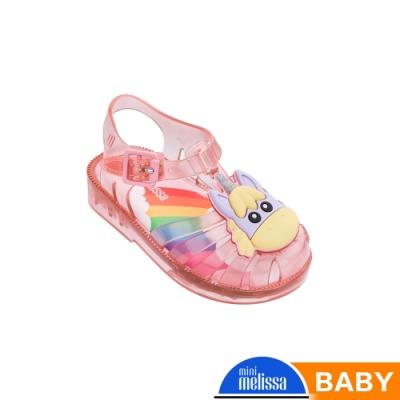 Melissa 獨角獸造型漁夫鞋(寶寶款)-果凍粉