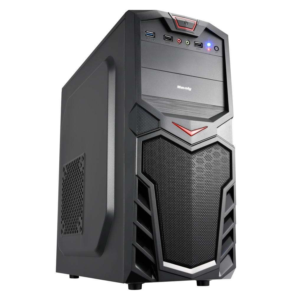技嘉H310平台[潛伏霸炎]i7八核GT730獨顯電腦