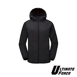 Ultimate Force「動力」女款輕量防曬風衣(黑色)