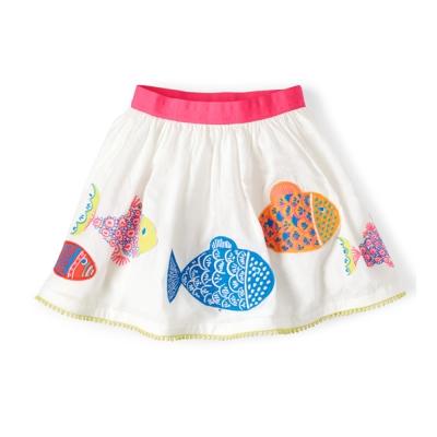 可愛動物 安全底褲設計 純棉短裙