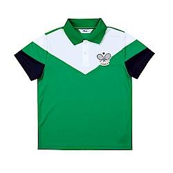 FILA KIDS POLO衫-綠 1POT-4428-GN