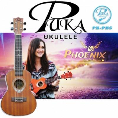 PUKA PK-PHC /烏克麗麗/23吋/Phoenix 鳳凰系列