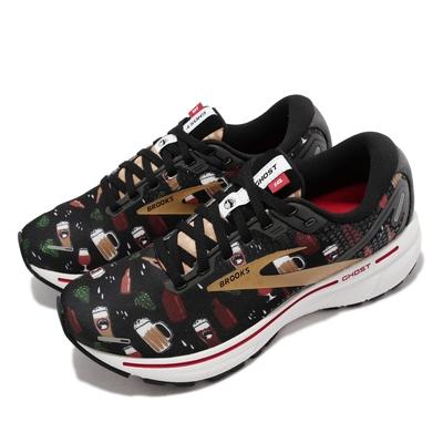 Brooks 慢跑鞋 Ghost 14 運動休閒 女鞋 避震科技 穩定 3D彈力列印科技 輕量 黑 彩 1203561B027