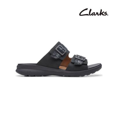 Clarks 街頭風尚 Un Adorn Slide 女涼鞋 黑色 CLF48263SS20