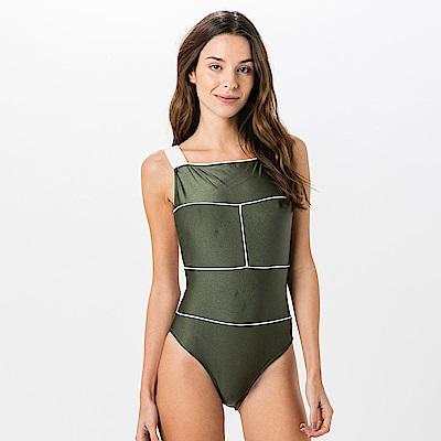 Avalanche巴西泳裝-完美的幾何-連身美背泳裝
