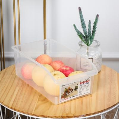日式長方形透明廚房調味品水果蔬菜整理盒(2個入) LT4001TR