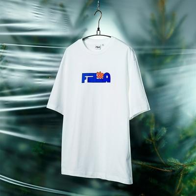 FILA #Back To Nature 短袖圓領T恤-白色 1TEV-1236-WT