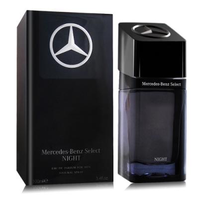 Mercedes Benz 賓士 夜帝耀男性淡香精 Select Night 100ml EDP-國際航空版