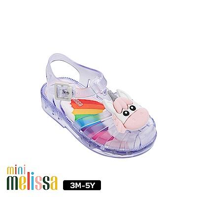 Melissa 獨角獸造型漁夫鞋(寶寶款)-果凍