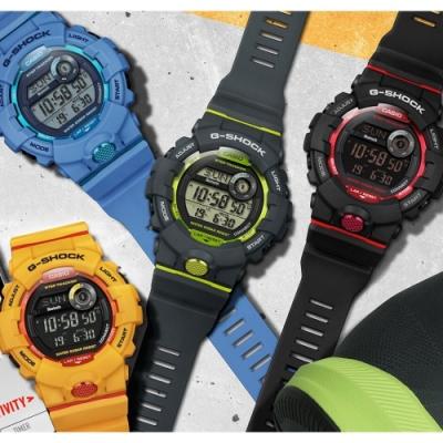 CASIO卡西歐 G-SHOCK新款藍芽連線運動錶(GBD-800)