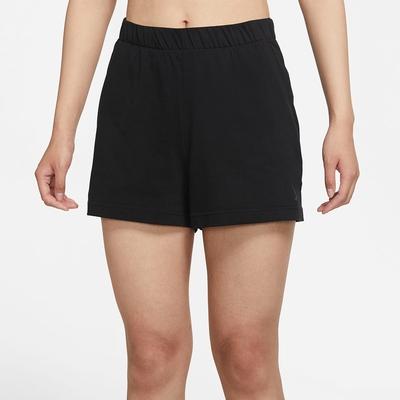 NIKE  短褲  運動短褲 慢跑 女款 黑 DA1032010 AS W NY CORE OFF MAT SHORT