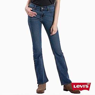 Levis 女款 牛仔褲 715 中腰合身靴型褲 彈性布料