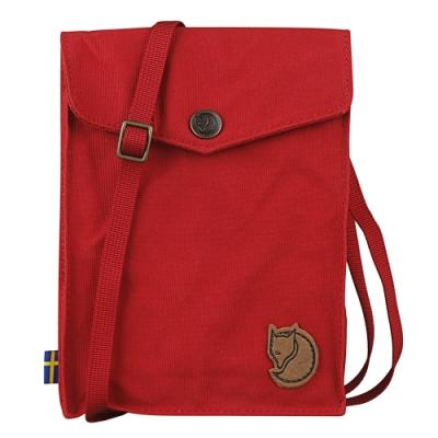 Fjallraven 瑞典北極狐 Pocket 旅行護照隨身袋(紅色)