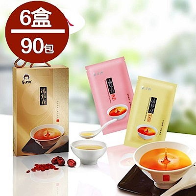 郭老師 養生滴雞精 原味 ( 80 ml/包, 15 包/盒)( 6 盒)