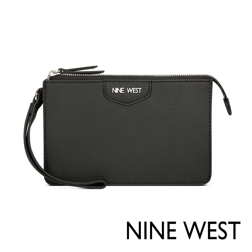 NINE WEST JOIE手掛式長夾/萬用包-黑色(522463