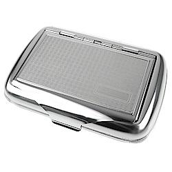 英國進口 TOBACCO CASE-馬口鐵製收納盒(煙盒/捲煙紙盒/煙草盒)-格紋款