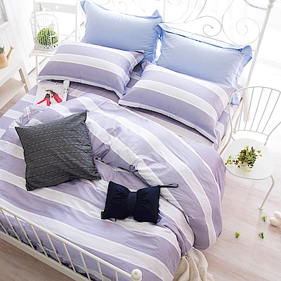 OLIVIA  Samantha 加大雙人床包被套四件組 300織天絲TM萊賽爾 台灣製