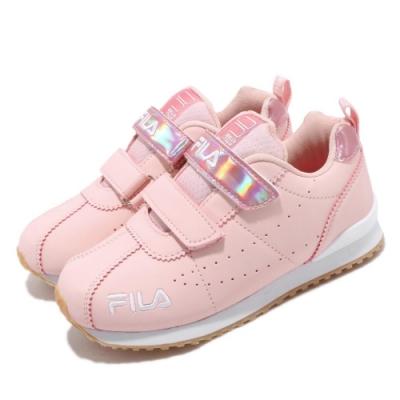 Fila 慢跑鞋 J828T 運動休閒 童鞋