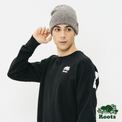Roots配件- 漢彌爾頓針織帽-灰色