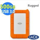 LaCie Rugged 500GB 雙介面 2.5吋SSD行動碟碟