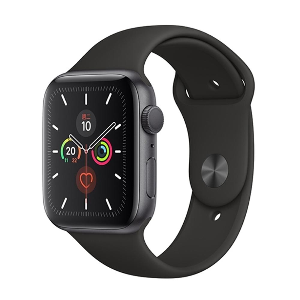 【福利品】Apple Watch Series 5 (GPS) 44mm鋁金屬錶殼