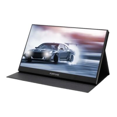 IS愛思 PLAYTV-P 17吋高畫質同屏超薄型可攜式液晶螢幕 (附可立式皮套/螢幕支架)