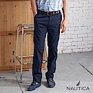 Nautica 美式輕薄舒適休閒長褲-藍