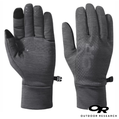 Outdoor Research 男 Vigor Heavyweight Sensor Gloves 加厚刷毛保暖手套_觸控手套_灰
