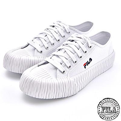 FILA 情侶款 韓版中性餅乾鞋 4 C320T 110