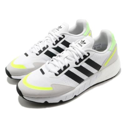 adidas 休閒鞋 ZX 1K Boost 男鞋 愛迪達 三葉草 基本款 緩震 穿搭推薦 白 黑 H69037