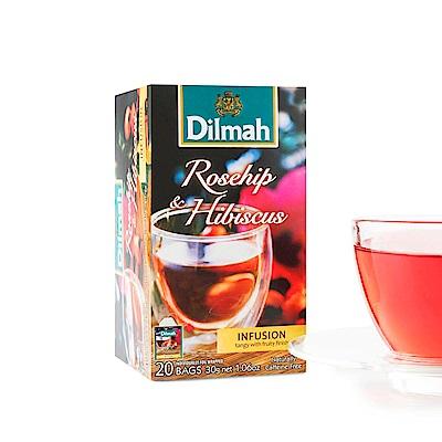 Dilmah帝瑪 玫瑰果茶(1.5gx20入)
