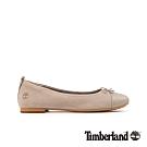 Timberland 女款淺褐色磨砂革芭蕾舞鞋|A25GA