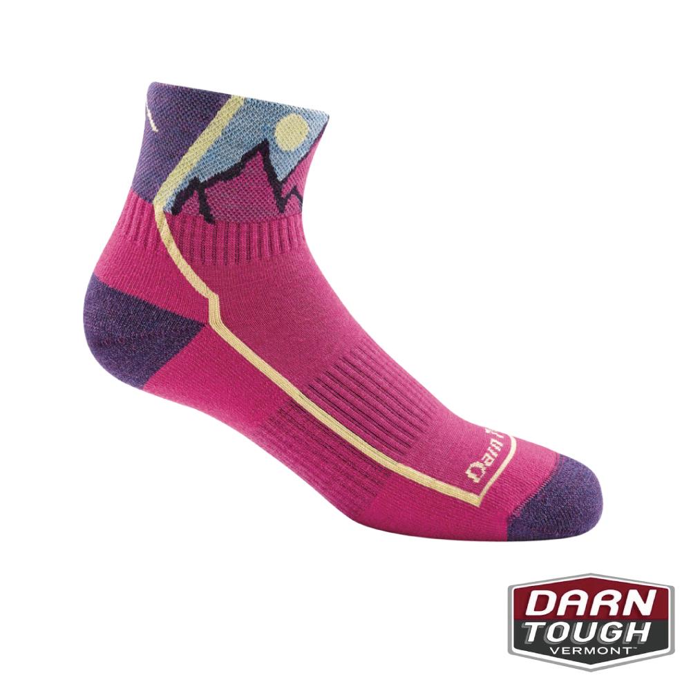 【美國DARN TOUGH】孩羊毛襪HIKER JUNIOR健行襪(2入隨機)