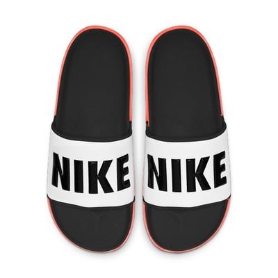 NIKE 拖鞋 運動 休閒 游泳 男鞋 白黑 BQ4639101  NIKE OFFCOURT SLIDE