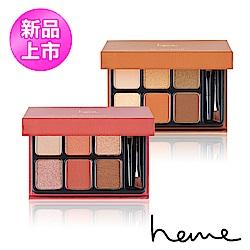 heme 喜蜜 六色眼影盤 9g-粉桃/金芒(新色上市)