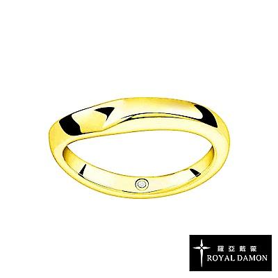 Royal Damon羅亞戴蒙 戒指 真鑽系列 熾熱(小)RZ492