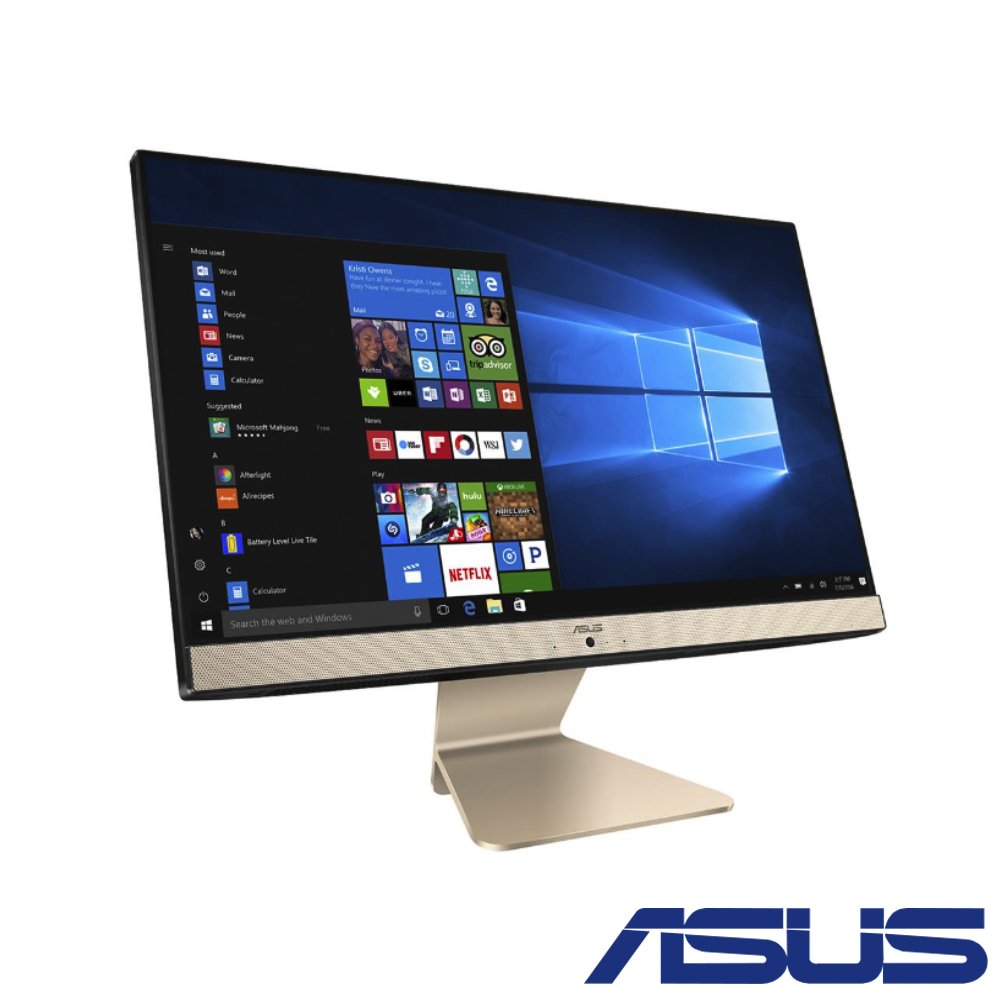 (無卡分期12期)ASUS Vivo AiO V222 22型(J4005/4G/1TB