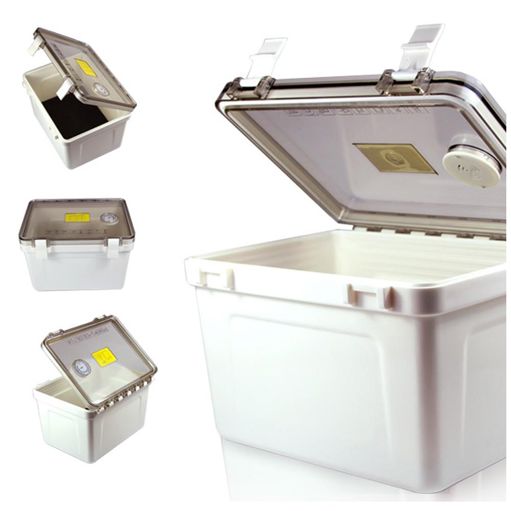 MYDC MT-076A 溼度監控防潮箱 (含溼度表) 附10入乾燥劑