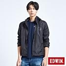 EDWIN EFS防水機能短版外套-男-黑色