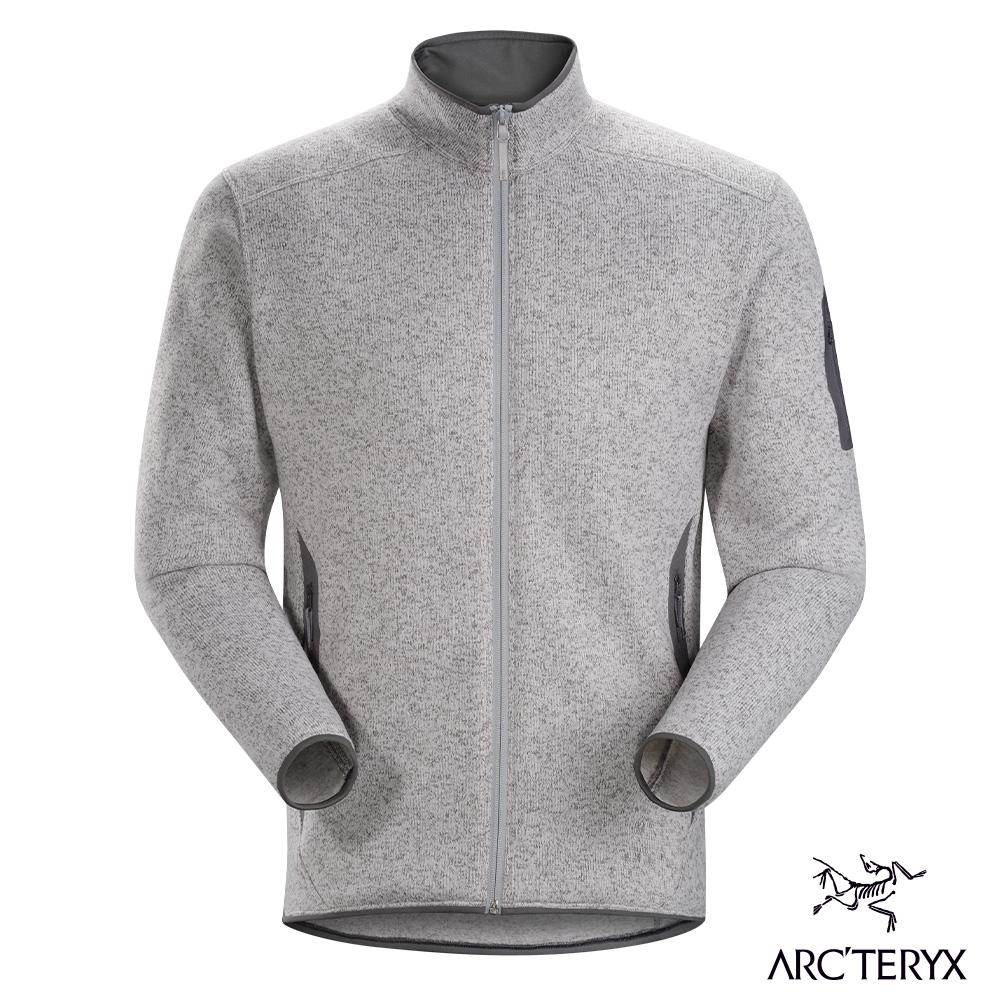 Arcteryx 始祖鳥 男 24系列 Covert 刷毛外套 飛馬雜灰