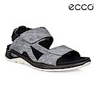 ECCO X-TRINSIC 戶外休閒涼鞋 DYNEEMA皮革限定 男-灰