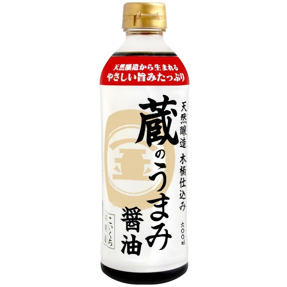 盛田 丸金旨味高級醬油(600g)